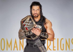 wwe championship belt win 2016 wrestle mania Roman…