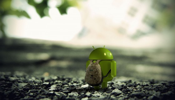 Android 3d render hd wide wall…