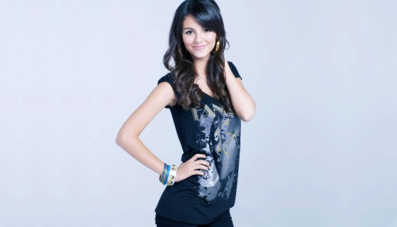 victoria justice stylish black…