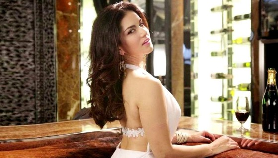 sunny leone hot backless white…