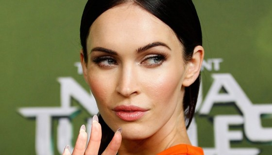 megan fox beautiful makup…