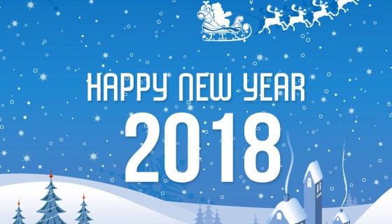 Happy new year 2018 ecard…