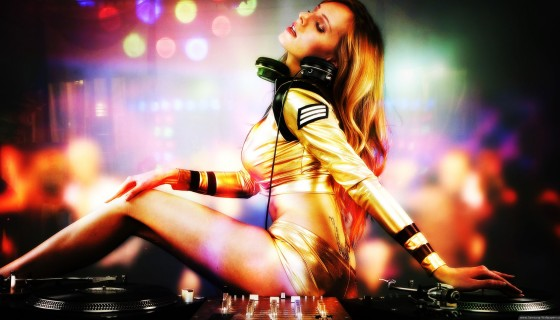 DJ party sexy stylist gir…