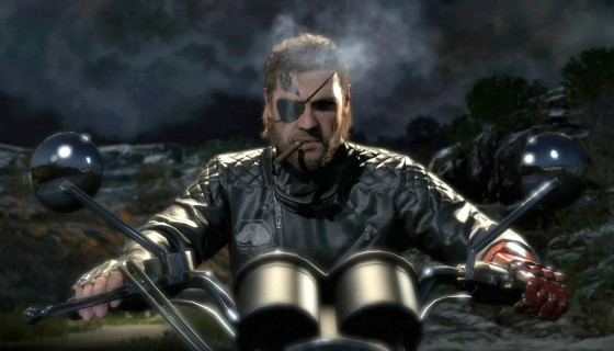 big boss naked snake on a moto…
