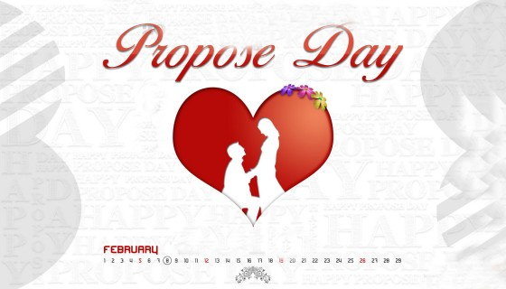 Propose Day 8th February …