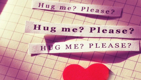 hug me quote message happ…