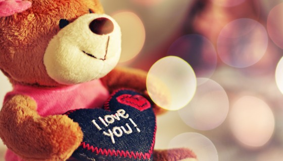 i love you teddy bear gift val…