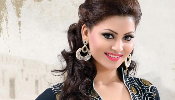 Urvashi Rautela beautiful hair…