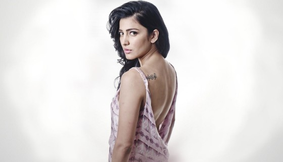 shruti hassan tattoo backless …