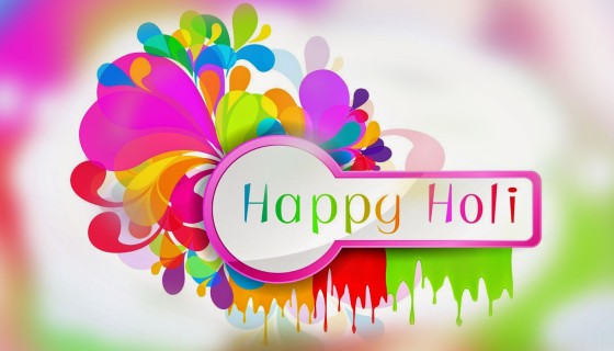 Happy Holi 2018 multi col…