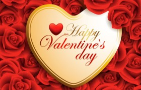 happy valentines day love rose…