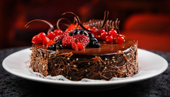 Chocolate stroberi Cake 4…