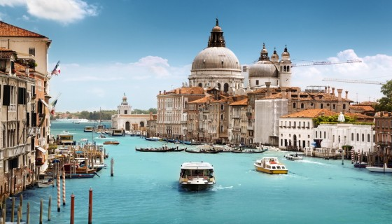 The Grand Canal Of Venice…