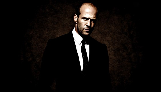 Jason statham black suit …