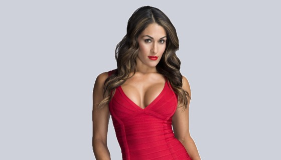 nikki bella red dress wwe…