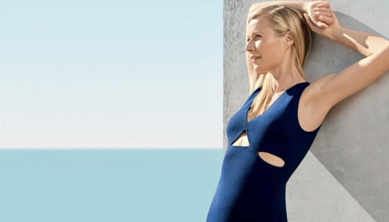 gwyneth paltrow blue dres…