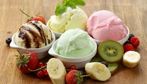 ice cream strawberry banana ki…
