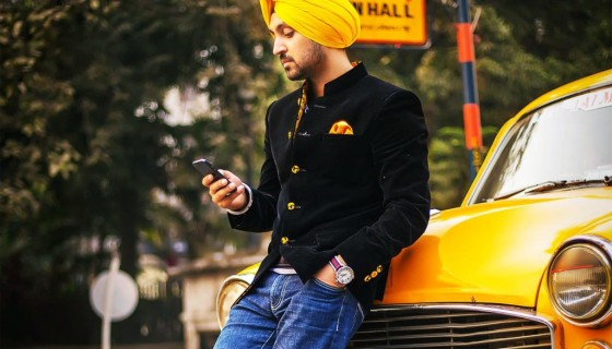 Diljit Dosanjh yellow color pu…
