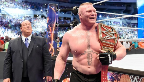 brock lesnar wwe champion…