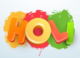 Happy Holi 3D hd Wallpape…