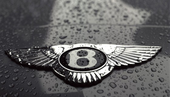 Bentley car logo 4k wallp…