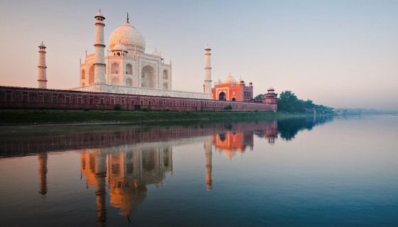 india taj mahal river yamuna h…